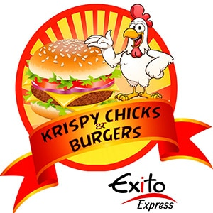 Krispy Chicks and Burgers Bonaire Fast Food Restaurant