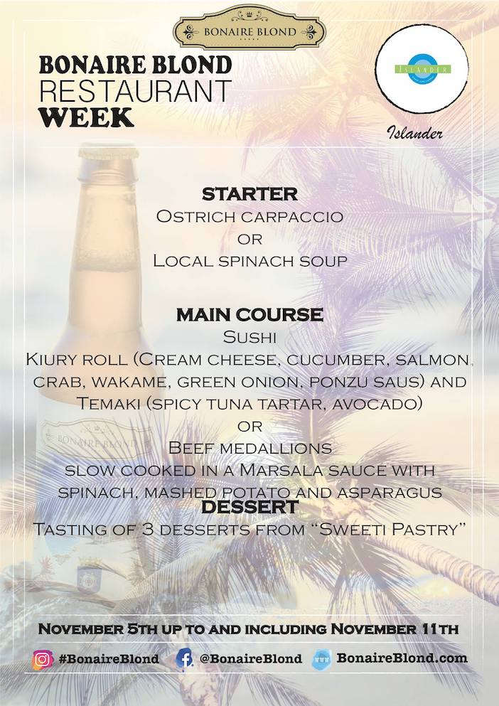 Bonaire-blond-restaurant-week-islander